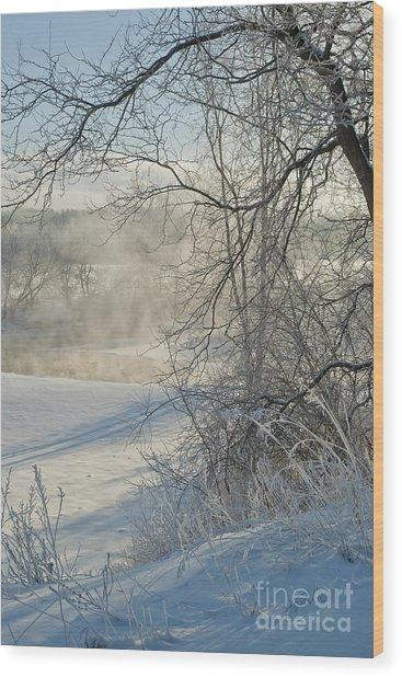 Winter Pastorale IIi Wood Print