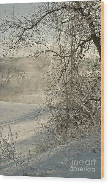 Winter Romance IIi Wood Print