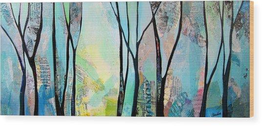 Winter Wanderings I Wood Print