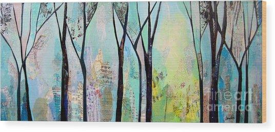 Winter Wanderings II Wood Print