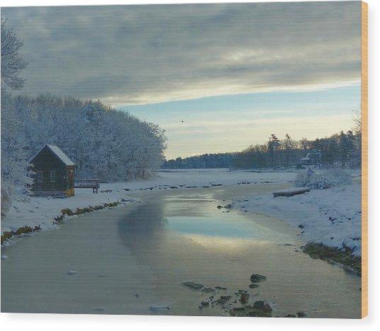 Winterlude Wood Print