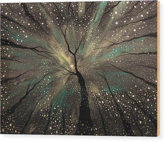 Winter's Trance Wood Print