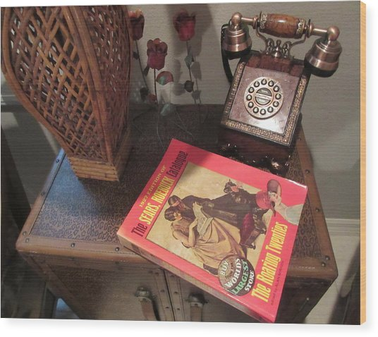 Wish Book Wood Print