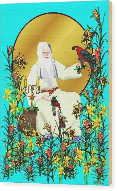 Wizard's Garden Wood Print