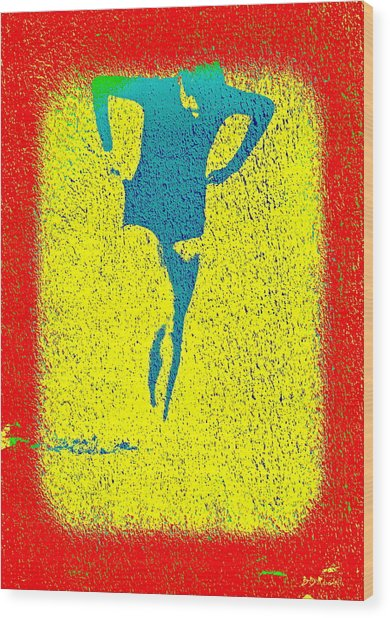 Woman Emerging -- Version I Wood Print by Brian D Meredith