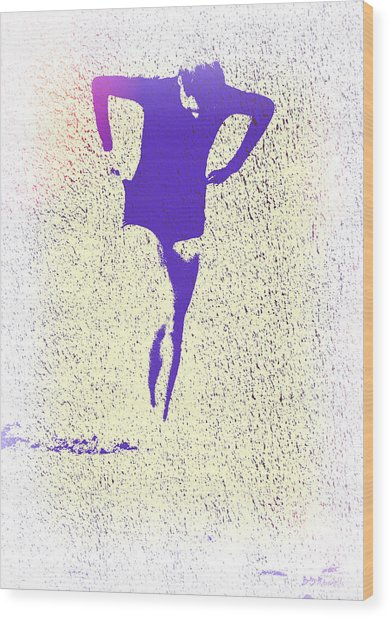 Woman Emerging -- Version K Wood Print by Brian D Meredith