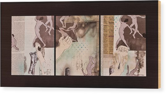 Women Of The Dance Wood Print