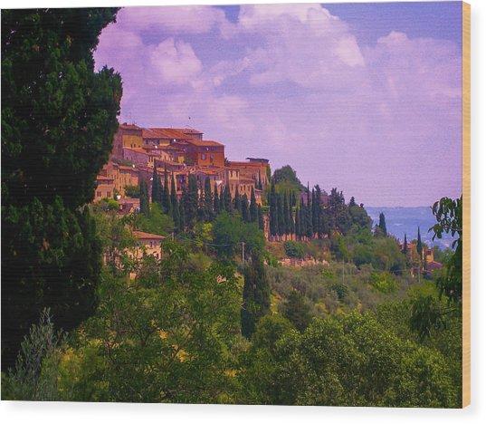 Wonderful Tuscany Wood Print