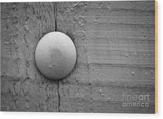 Wood Pin  Wood Print by Jolanta Meskauskiene