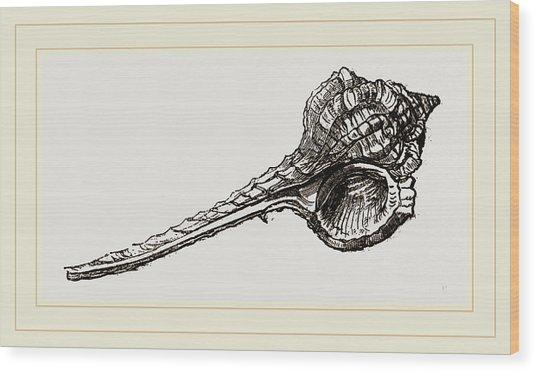 Woodcocks Head Wood Print