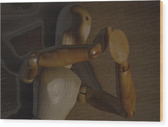 Woodmaan Wood Print