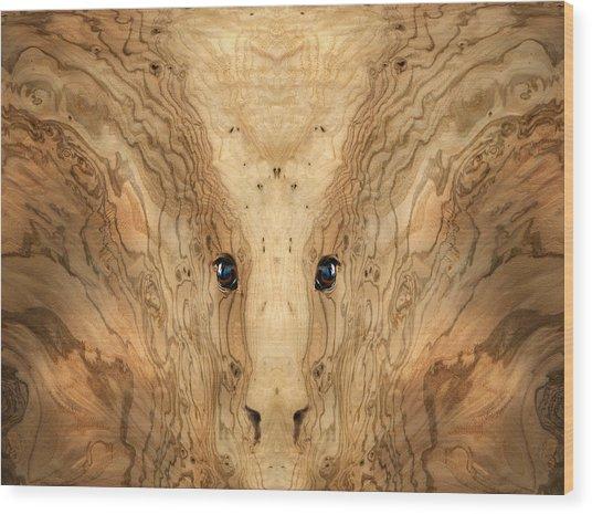 Woody 38 Wood Print