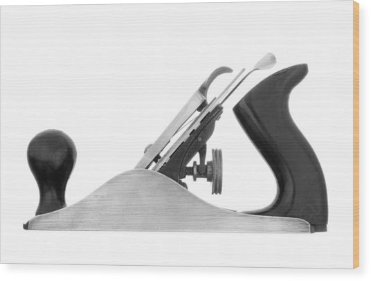 Woodworker's Block Plane Wood Print
