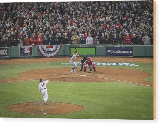 World Series Game Six 2 Wood Print