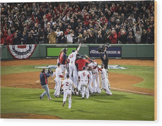 World Series Game Six 5 Wood Print