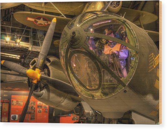 World War 2 Bomber Wood Print