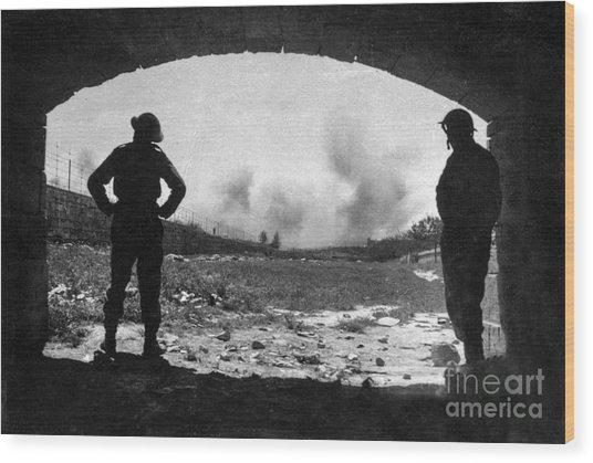 World War 2 Wood Print
