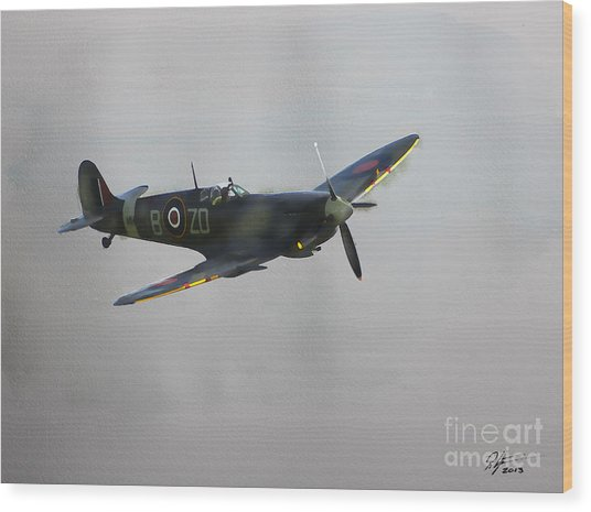 World War 2 Spitfire Wood Print