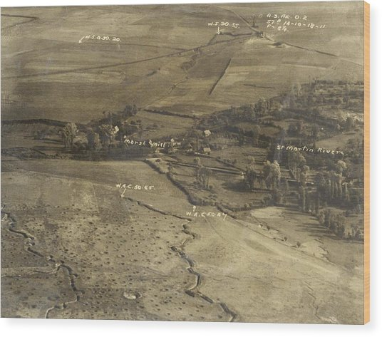 World War I Trenches Wood Print by Ny State Military Museum