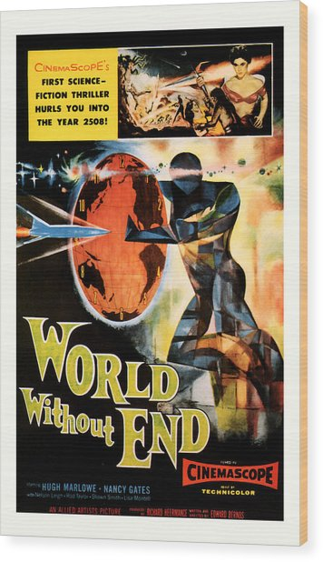 World Without End 1956 Wood Print