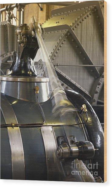 Woudagemaal Steam Engine. Wood Print