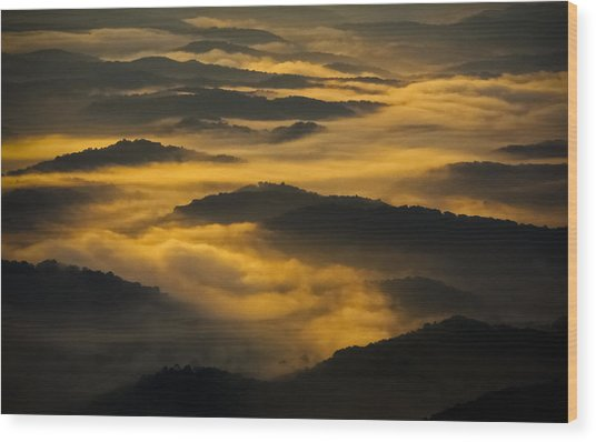 Wva Sunrise 2013 June II Wood Print