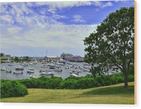 Wychmere Harbor Wood Print