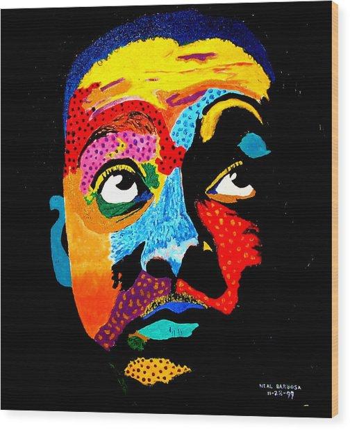 Wynton Marsalis Wood Print