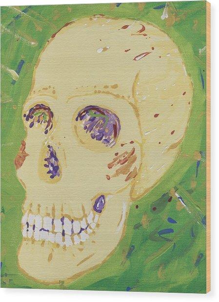 X-ray Jones Wood Print