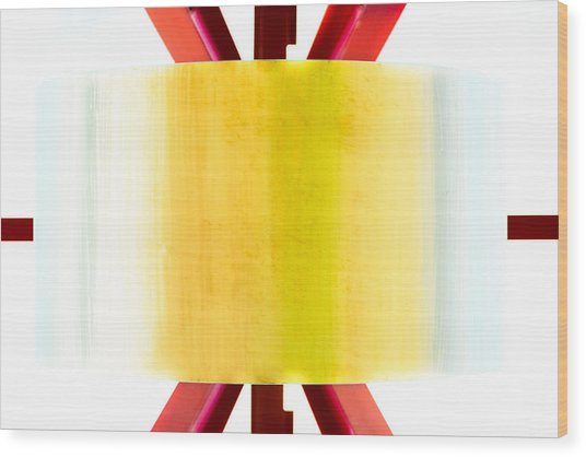 Xo - Color Wood Print