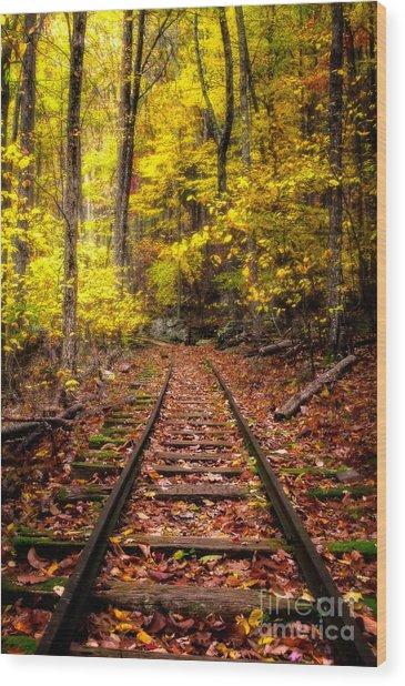 Yankee Horse Ridge  Wood Print