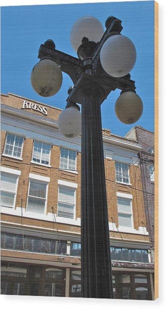 Ybor City 2010 5 Wood Print