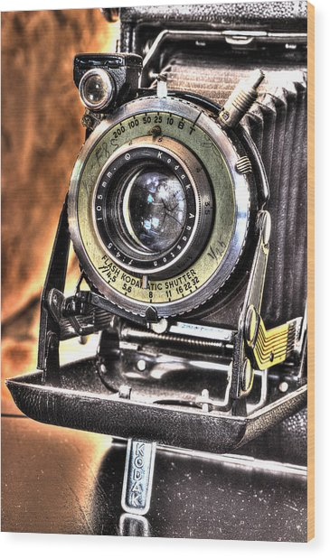 Years Back Kodak Wood Print