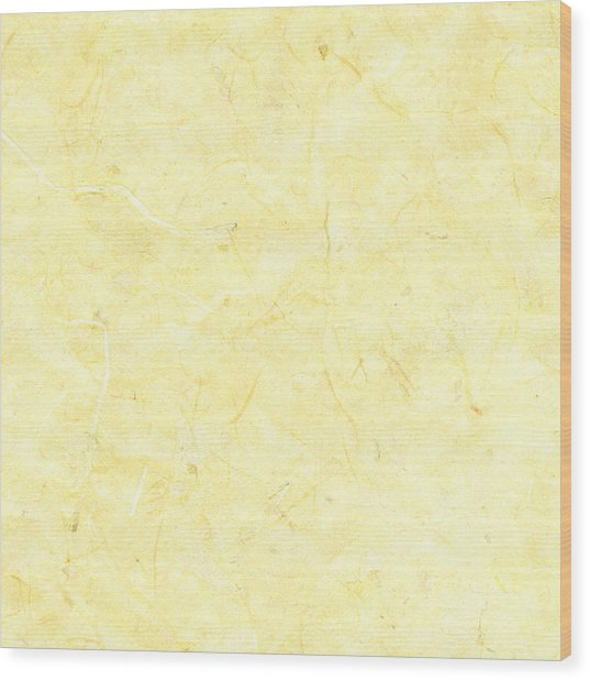 Yellow Marble Background Wood Print by Jeff Venier