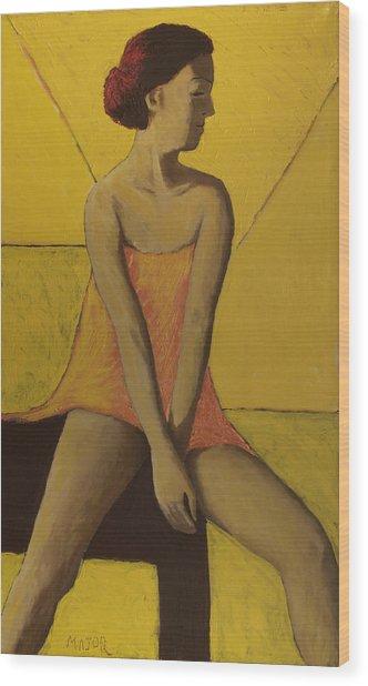 Yellow Room Wood Print