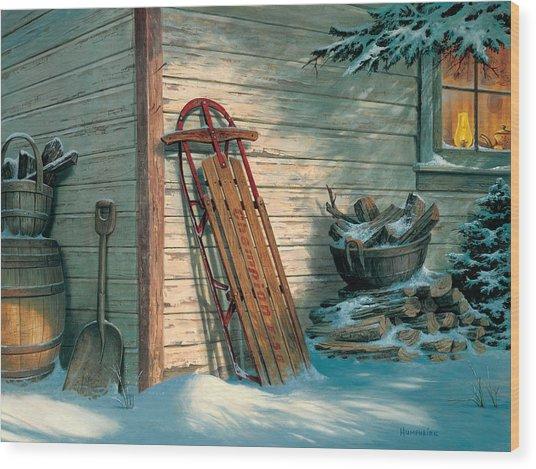 Yesterday's Champioin Wood Print