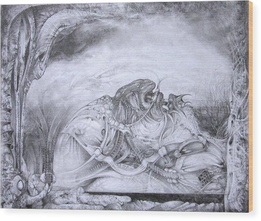 Ymir At Rest Wood Print