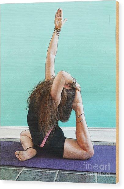 Yoga Study 3 Wood Print