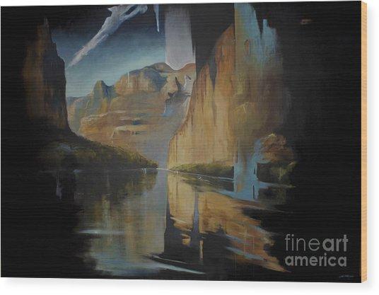 Yosemite Wood Print
