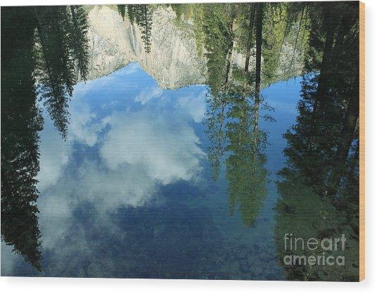 Yosemite Reflection 2 Wood Print