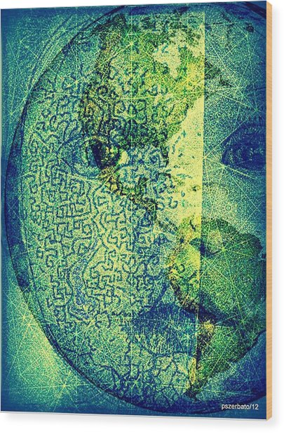 You Are A Sacred Gift To Be Shared With All Humanity Wood Print