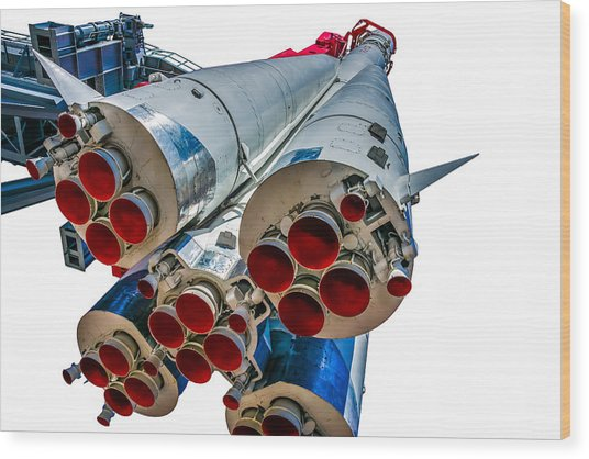 Yuri Gagarin's Spacecraft Vostok-1 - 5 Wood Print