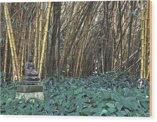 Zen Bamboo Wood Print