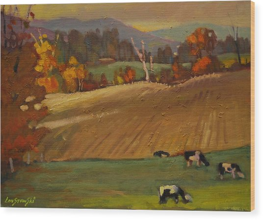 Ziemba Farm Wood Print