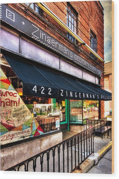 Zingerman's Delicatessen Wood Print