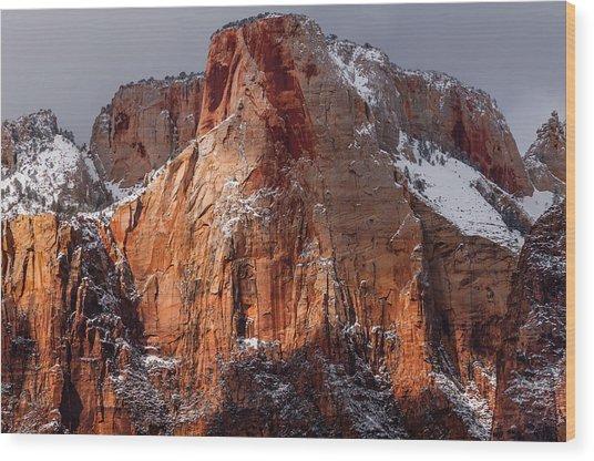 Zion Wood Print