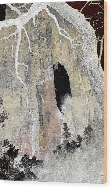 Zion Tea Wood Print