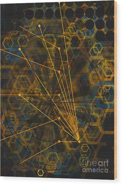 Zorg Wood Print by Jose Benavides