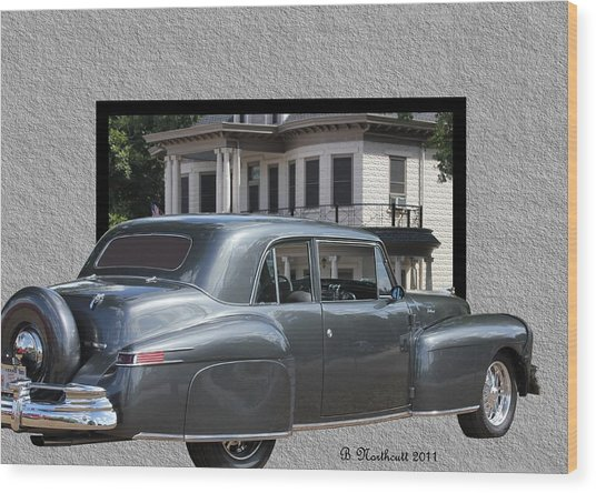 1947 Lincoln Continental Coupe Wood Print