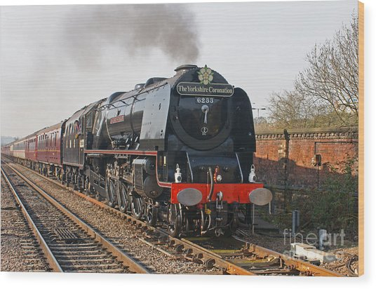 6233 Duchess Of Sutherland Wood Print